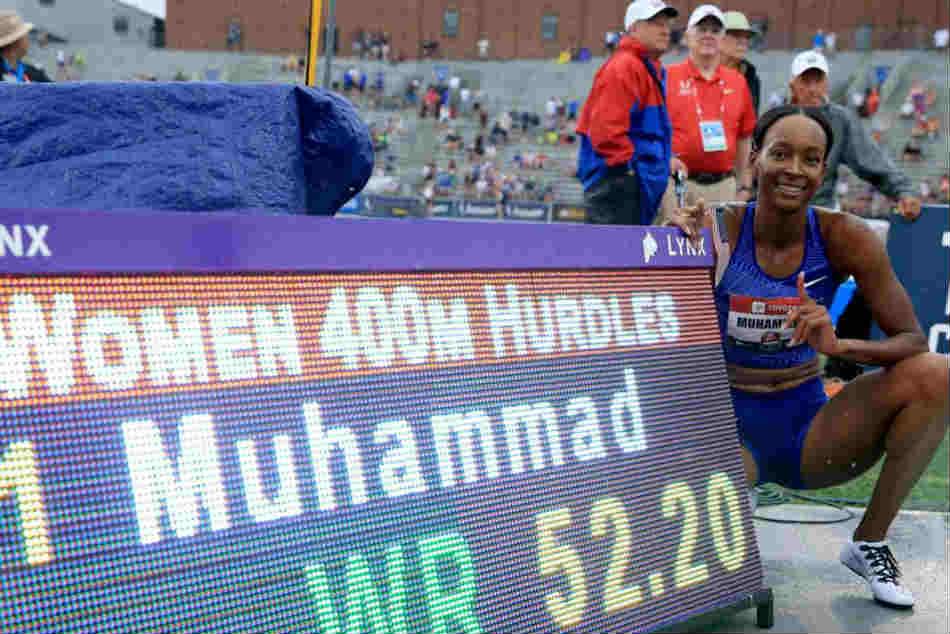 Dalilah Muhammad Breaks World Record In 400 Hurdles At Nationals