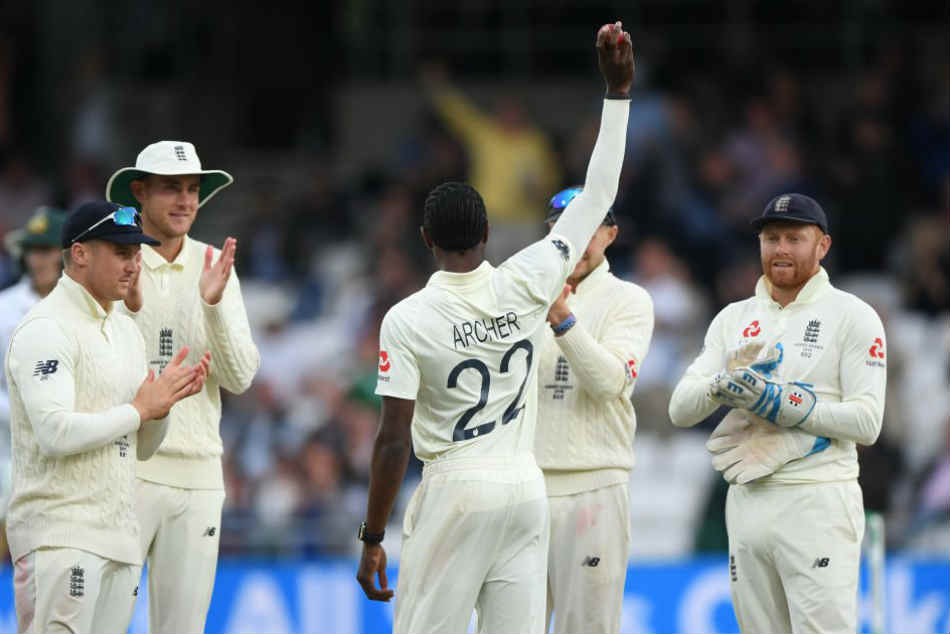 Ashes 2019: Jofra Archer took six wickets to help England bowl out Australia for 179
