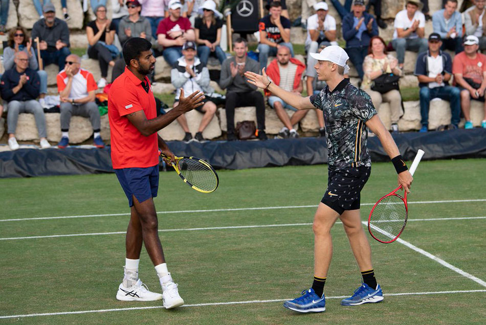 Rohan Bopanna and Denis Shapovalov crash out in Rogers Cup semi-finals