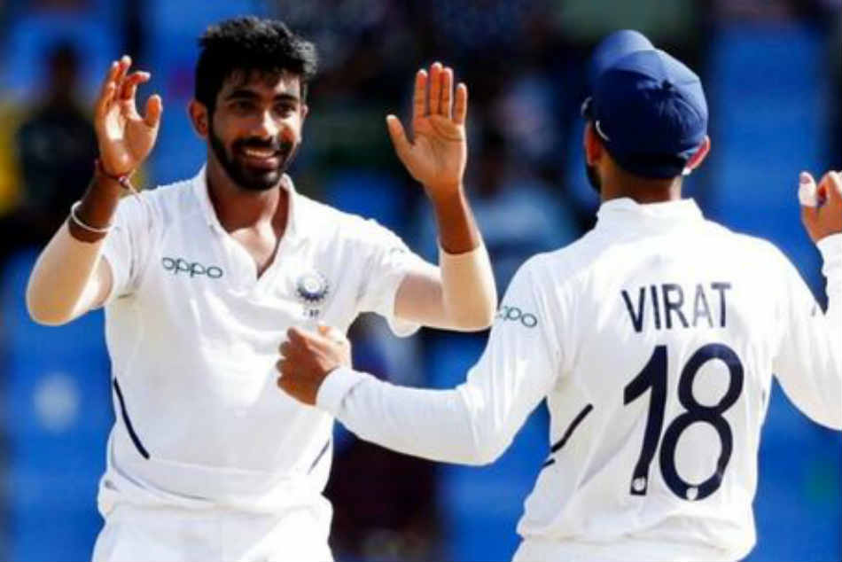 India Vs West Indies Jasprit Bumrah Fastest Indian Pacer To 50 Test Wickets