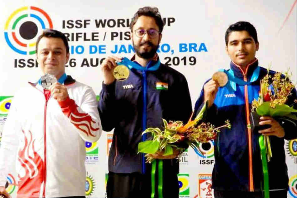 ISSF World Cup: Abhishek Verma wins gold, bronze for Saurabh Chaudhary in 10m Air Pistol in Rio