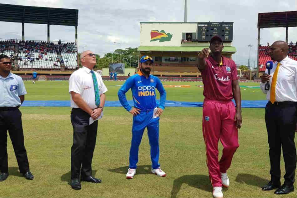 India Vs West Indies: 1st ODI, Live Score: India win the toss and elect to field