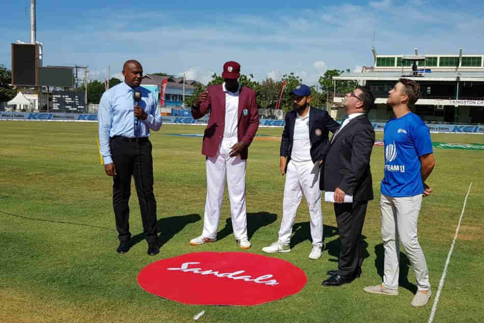India vs West Indies Live Score 2nd Test, Day 1: West Indies have won the toss and have opted to field