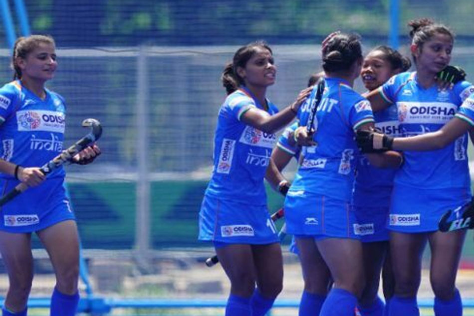 Indian Mens and Womens Hockey team enters finals in Olympic Test Event