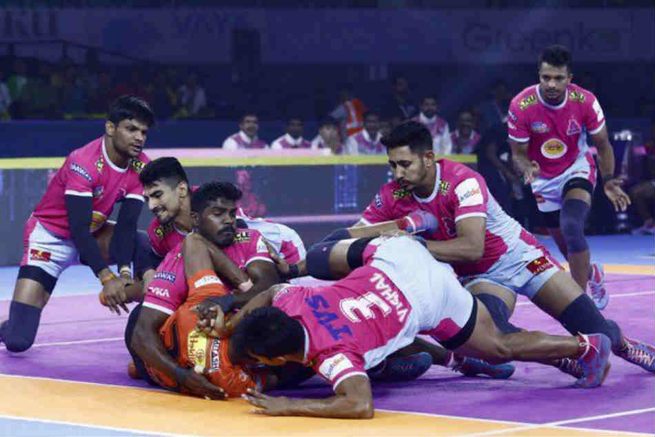 PKL 2019: Jaipur pink panthers top of the points table