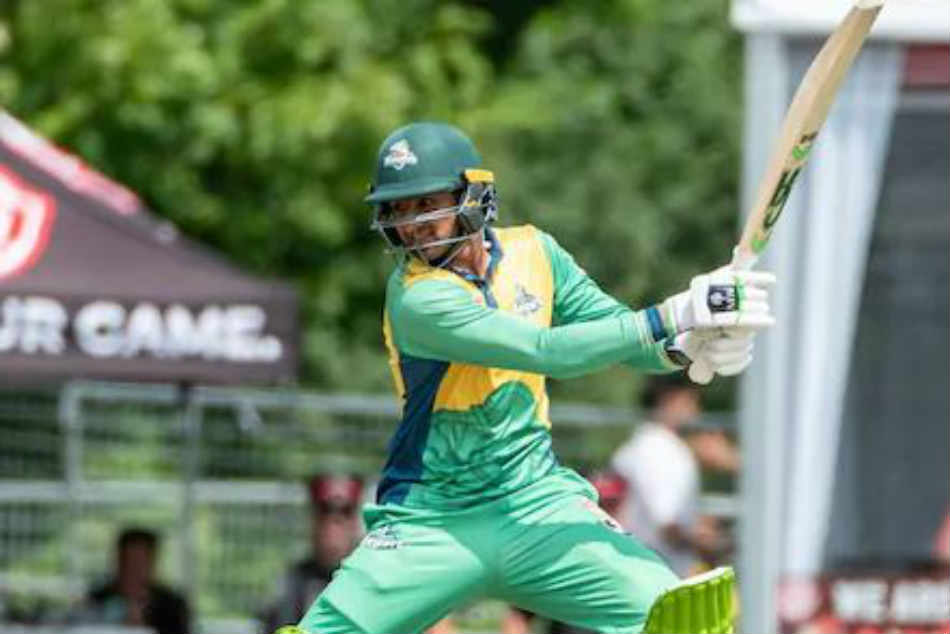 Global T20 Canada: Shoaib Malik shatters glass window with huge sixes