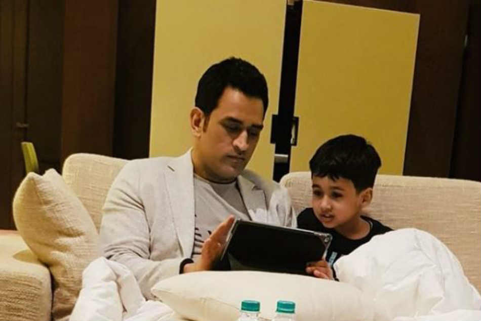 What is keeping MS Dhoni busy after return from Kashmir