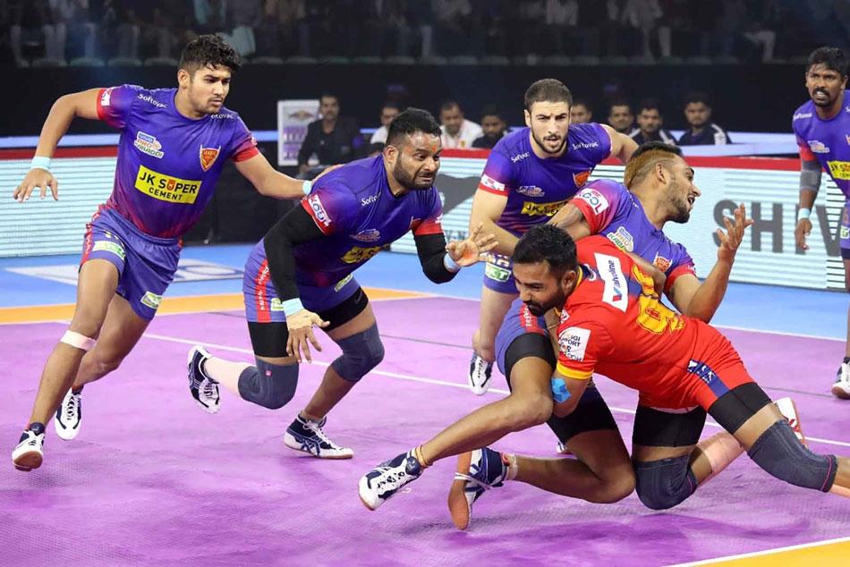 Pkl 2019 Dabang Delhi Rise To League Summit After Beating Up Yodhha