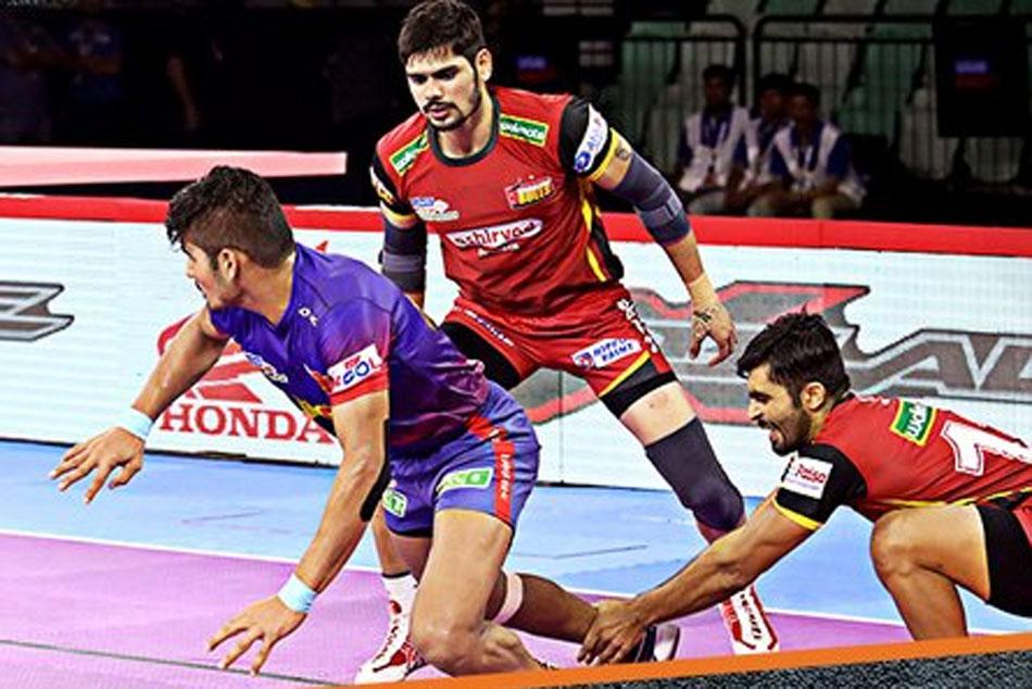 Pkl 2019 Dabang Delhi Begin Home Leg With Win Over Bengaluru Bulls