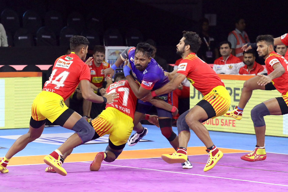 PKL 2019: Gujarat Fortunegiants beat Dabang Delhi with 31-26