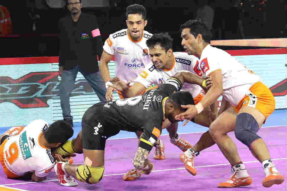 Puneri Paltan defeat Telugu Titans to move above them in the league's standings
