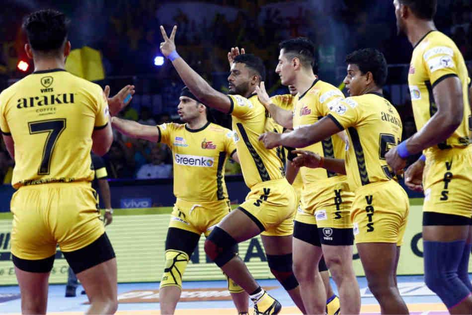 Pro Kabaddi 2019 Sizzling Sehrawat Guides Bengaluru Bulls To Easy Win Over Telugu Titans