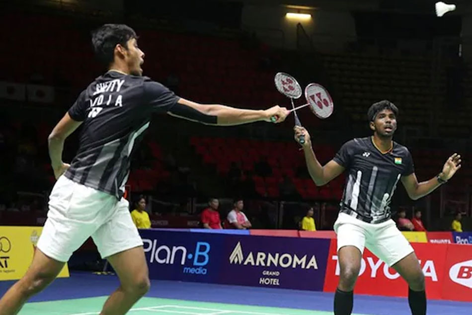 Thailand Open: Satwiksairaj Rankireddy, Chirag Shetty Enter Mens Doubles Final