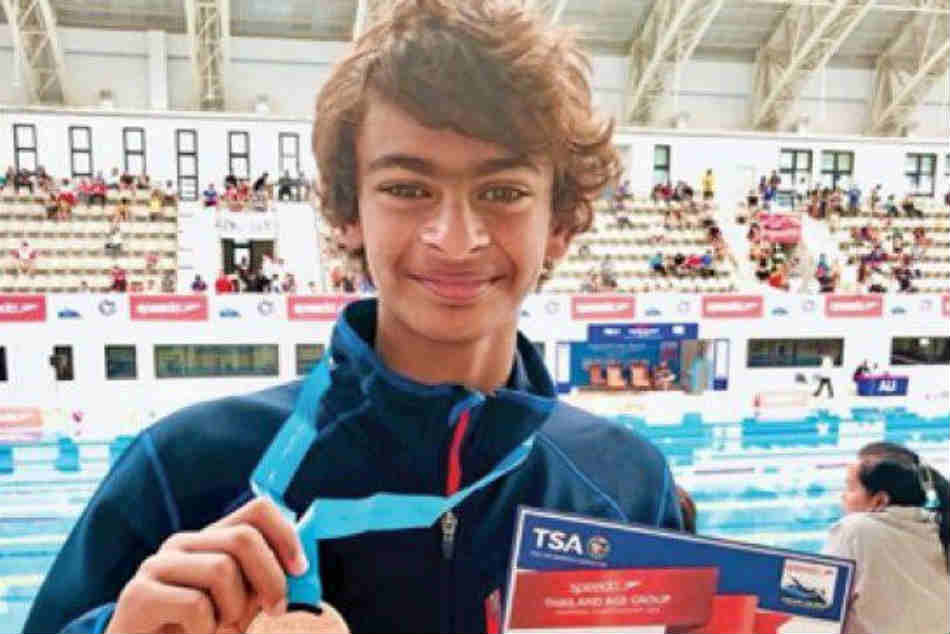 See pic: Madhavans son Vedaant wins silver for India in Asian Age Group Championship