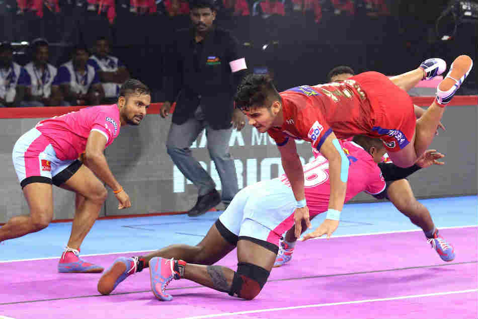 PKL 2019: Dabang Delhi defeat Jaipur Pink Panthers to consolidate their position on top of the table