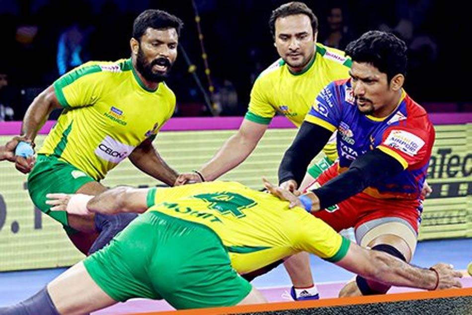 Pkl 7 Shrikant Jadhav Help S Up Yoddha Beat Tamil Thalaivas