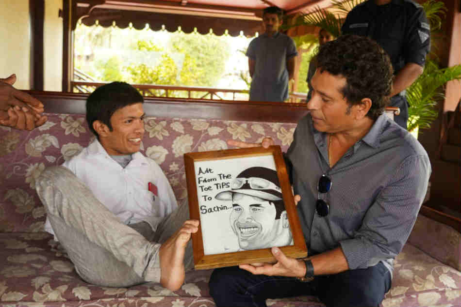 Sachin Tendulkar Shares Post of Inspiring Kerala Artist on Onam