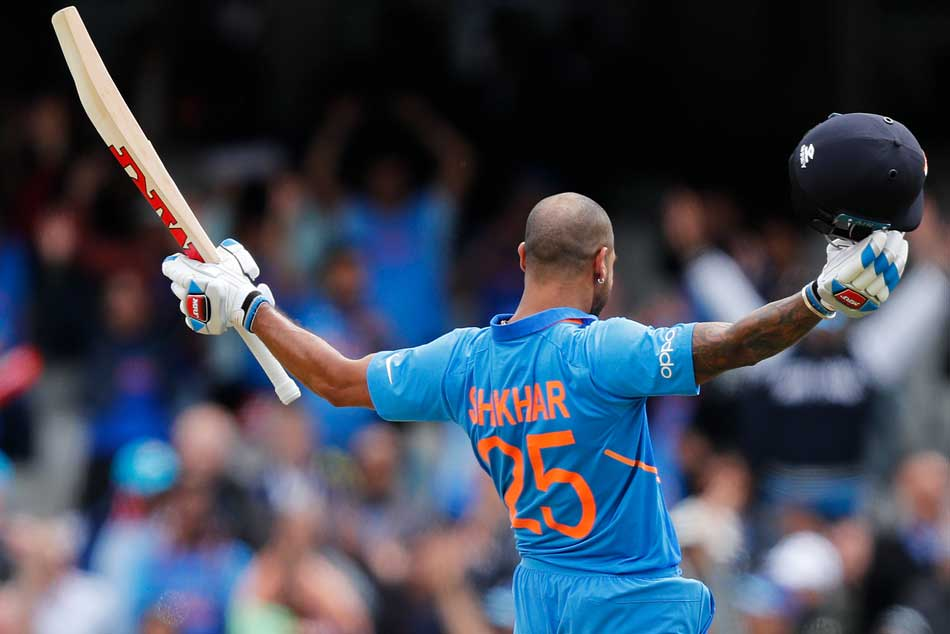 Indian opener Shikhar Dhawan gets hit on neck, makes hilarious comment