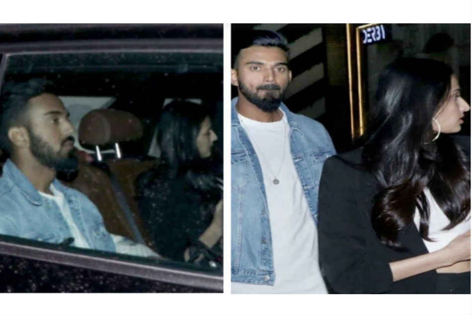 KL Rahul goes on a dinner date with Bollywood actress Athiya Shetty