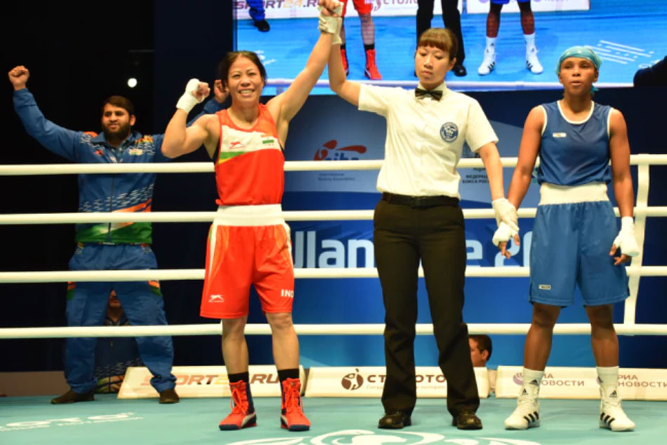 Mary Kom Assured Yet Another World Championship Medal After Defeating Valencia Victoria 5 0