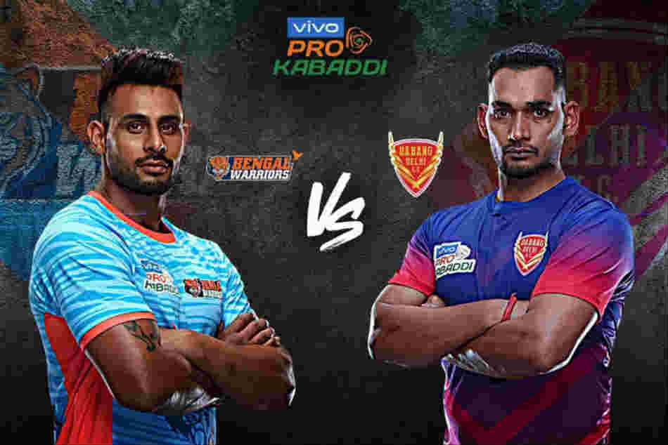 Pro Kabaddi Dabang Delhi Vs Bengal Warriors Final Match Schedule Timings Venue Teams Details Drea