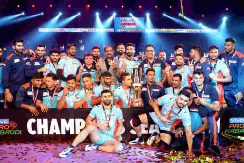 Pro Kabaddi Bengal Warriors Beat Dabang Delhi And Lift Their Maiden Pro Kabaddi Title