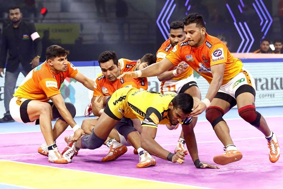 PKL 7: Telugu Titans playoffs dream ends, after loss to Puneri Paltan
