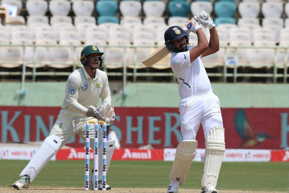 IND vs SA: Rohit Sharma hits half century in 1st Test as opener