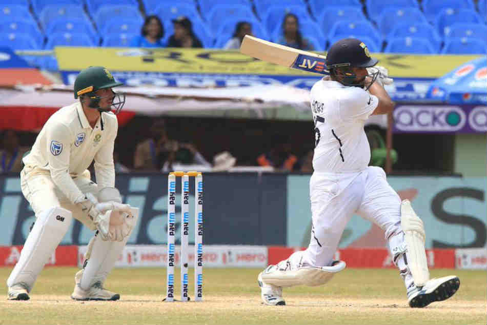 India vs South Africa 1st Test live score Day 4: Rohit Sharma hits 7th fifty in a row to set new Indian record