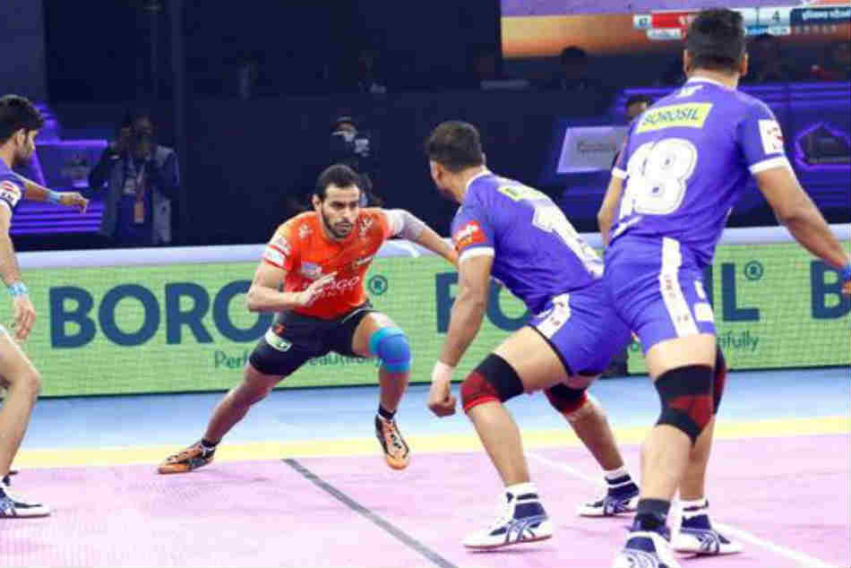 Pro Kabaddi League 2019 Playoffs Abhishek Singh Arjun Deshwal Star As U Mumba Beat Haryana Steelers