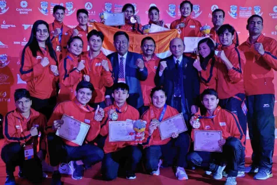 Asian Youth Boxing Championship Indian Boxers Sign Off With 2 Medals Including Five Gold In Womens