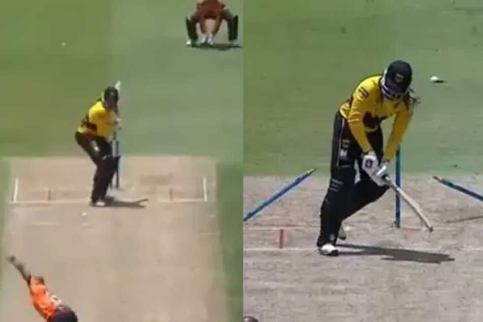 WATCH: Junior Dala cleans up Chris Gayle with a lethal yorker in Mzansi Super League