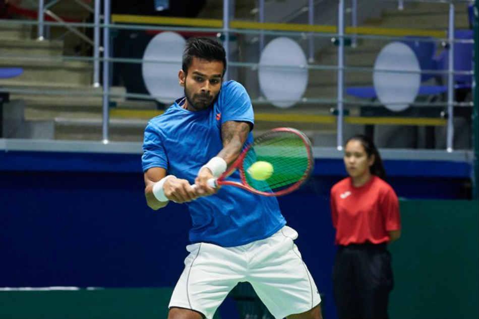 Davis Cup Ramkumar Sumit Trample Pakistan On Day 1 India Lead 2 0