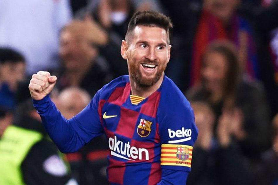 Lionel Messi Equals Cristiano Ronaldo S Hat Trick Record As Barcelona Cruise To La Liga Win