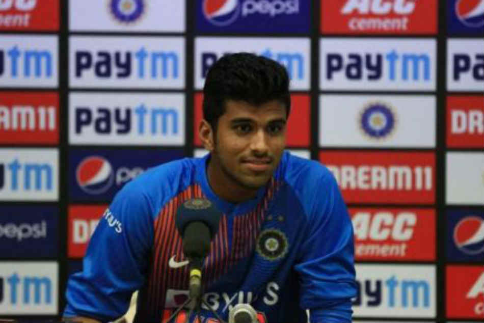 Calm and composed spinners play a big role in T20s: Washington Sundar