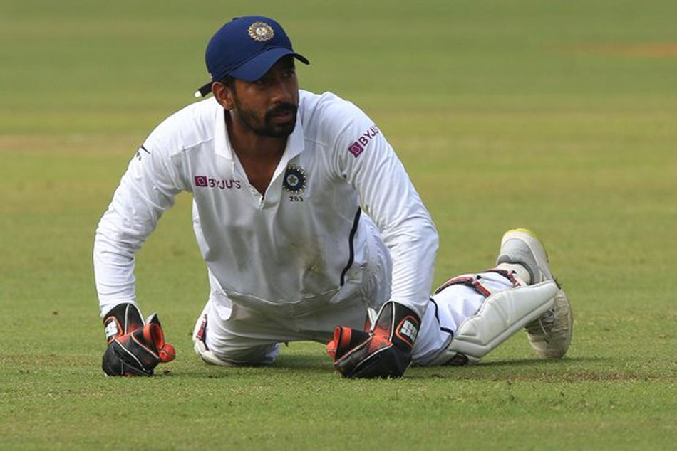 Pink Ball Test: Wriddhiman Saha joins elite list of Indian wicket-keepers with a century of dismissals