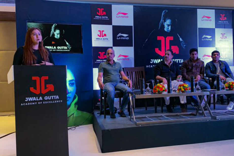 Jwala Gutta Starts Sports Academy Today