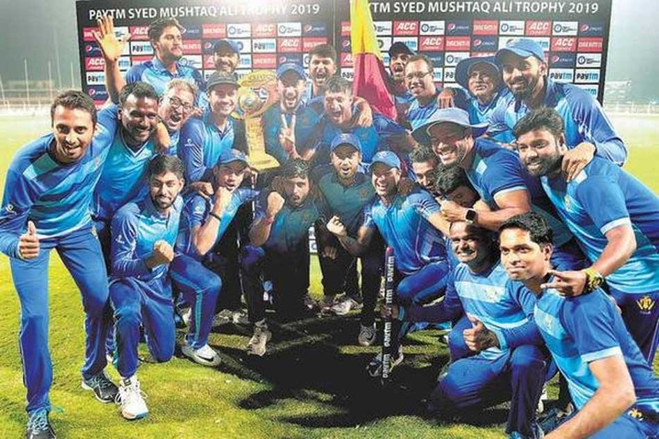 Syed Mushtaq Ali Trophy: Karnataka Become Domestic T20 Champions After Beating Tamil Nadu In Thrilling Final