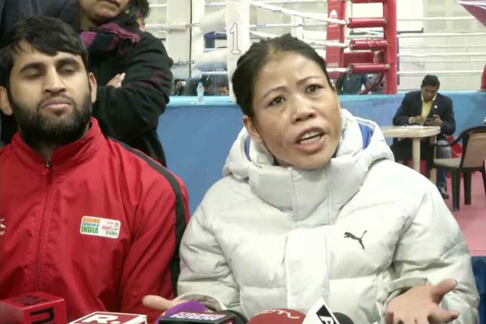 Don T Like People With Such Nature Mary Kom Explains Hand Shake Snub After Beating Nikhat Zareen