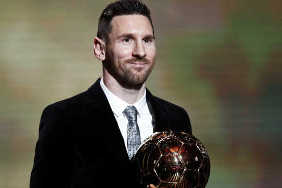 Argentine Footballer Lionel Messi Wins Record Sixth Ballon D Or Title