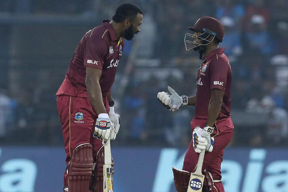 135 runs between Pollard and Pooran is the highest fifth-wicket partnership for West Indies against India