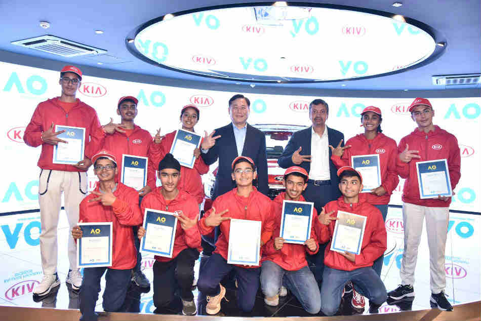 Australian Open 2020: 10 Indian kids chosen as KIA ball-boys, express delight at the once-in-a-lifetime opportunity