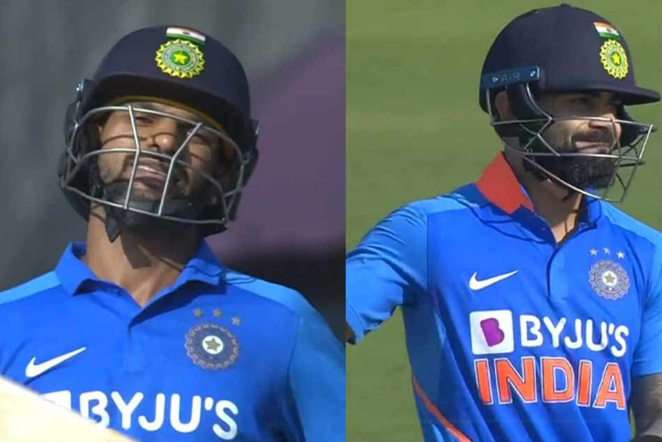 India Vs Australia 2nd ODI: Shikhar Dhawan misses out on a 100 by 4 runs