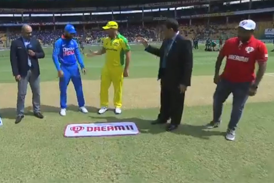 India vs Australia 3rd ODI: Australia have won the toss and have opted to bat
