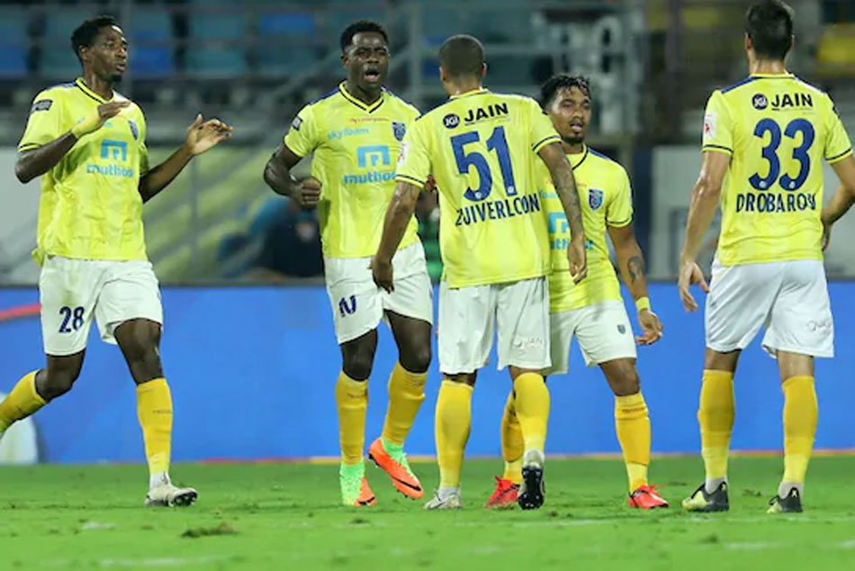 ISL: Kerala Blasters FC End Winless Run With 5-1 Win Over Hyderabad FC