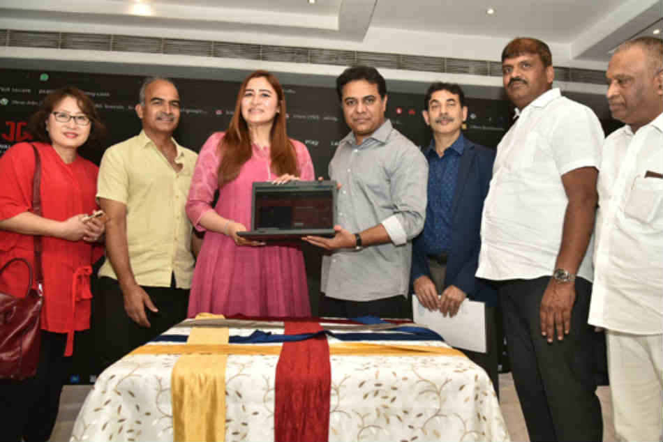 Hyderabad: Jwala Gutta Academy of Excellence website launched by KTR