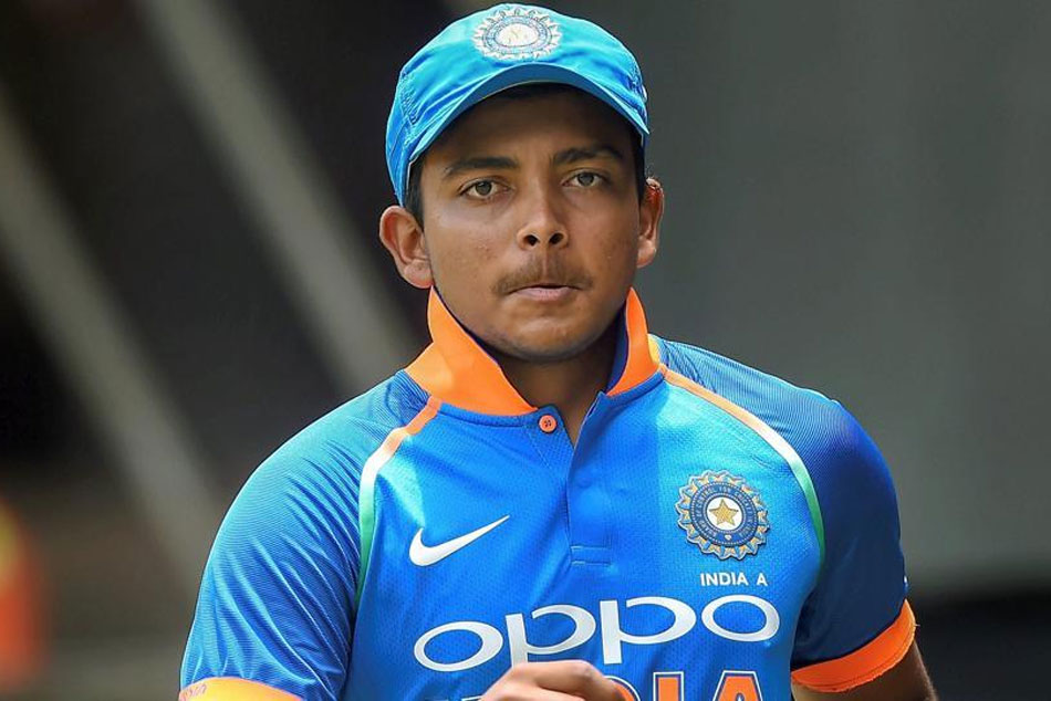Prithvi Shaw doubtful for Indias tour of New Zealand after suffering shoulder injury