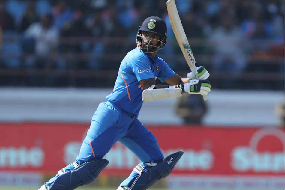 India Vs Australia 2nd Odi Kl Rahul S Quick Fire 80 Takes Host To 340 6