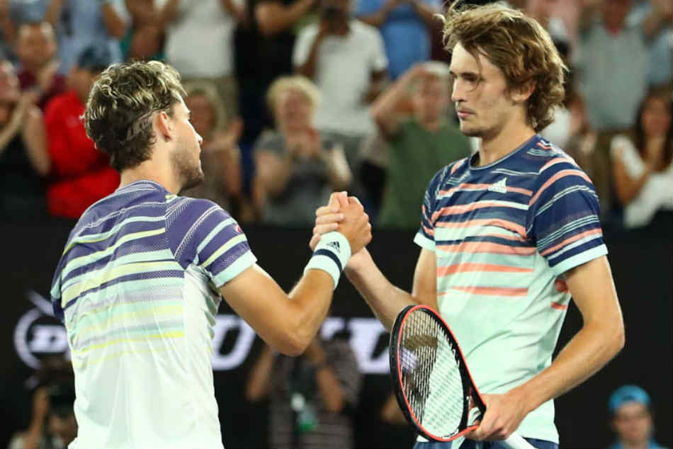 Australian Open 2020 Dominic Thiem Edges Alexander Zverev To Set Up Novak Djokovic Final