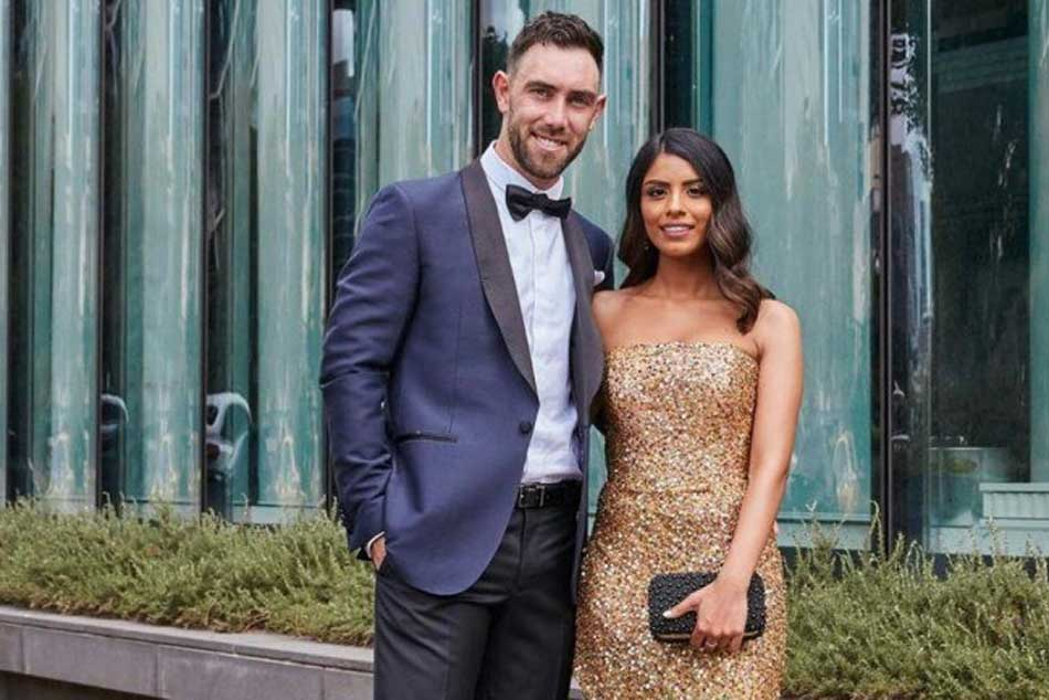 Glenn Maxwell announces engagement to Indian-orgin girlfriend Vini Raman